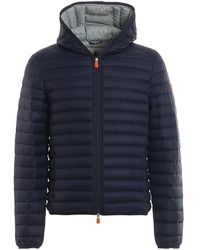 Save The Duck Gigax Padded Jacket - Blue