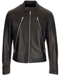 Maison Margiela - Four-stitch Leather Jacket - Lyst