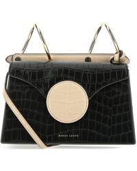 Danse Lente Mini Phoebe Crossbody Bag - Black