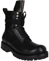 Rick Owens Gethsemane Hiking Boots - Black