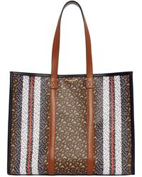 Burberry Tote Bag Small - Natural