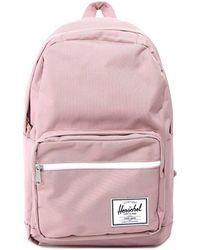 Herschel Supply Co. Pop Quiz Logo Patch Backpack - Pink