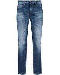 PT01 Straight Leg Denim Jeans - Blue