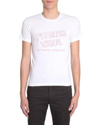Visvim Logo Printed T-shirt - White