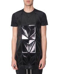 Rick Owens Printed T-shirt - Black