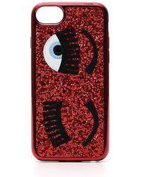 Chiara Ferragni - Flirting Eye Iphone 8 Glitter Case - Lyst