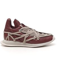 Rick Owens Phlegethon Megalaced Runner Sneakers - Multicolour
