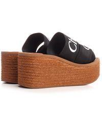 Chloé Chloé Other Materials Sandals - Black