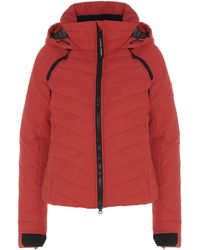 Canada Goose Hybridge Base Down Jacket - Red