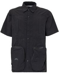 A_COLD_WALL* * Pockets Detailed Shirt - Black