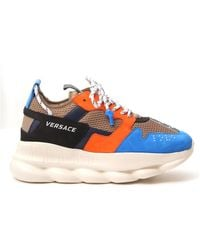 Versace Chain Reaction 2 Trainers - Blue