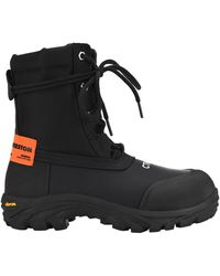 Heron Preston Logo Hiking Boots - Black