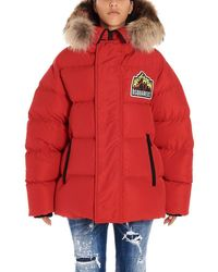 DSquared² - Polyester Down Jacket - Lyst