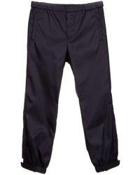 Prada Elasticated Track Trousers - Blue