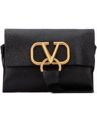 Valentino Vring Belt Bag - Black