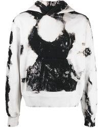 Amiri Tie-dye Print Hoodie - Multicolor