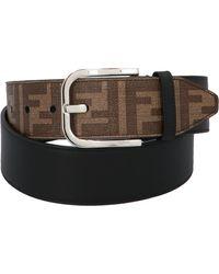 Fendi Ff Motif Belt - Brown