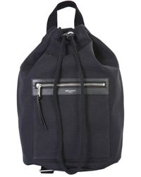 Saint Laurent City Sailor Backpack - Black