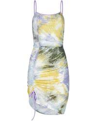 Gcds Slip Strap Mini Dress - Multicolour