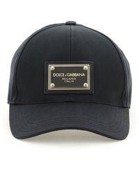 Dolce & Gabbana Baseball Cap 59 Cotton - Black