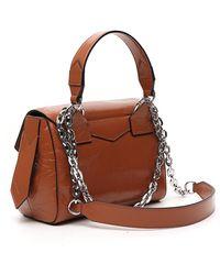 Givenchy Small Id Top Handle Bag - Brown