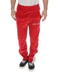 Palm Angels - Logo Side Stripe Track Pants - Lyst