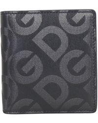 Dolce & Gabbana Bi-fold Wallet - Black
