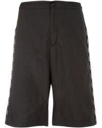 Valentino Vltn Piping Bermuda Shorts - Black