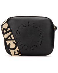 Stella McCartney Logo Mini Camera Bag - Black