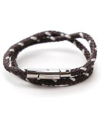 Tod's - My Colours Woven Bracelet - Lyst