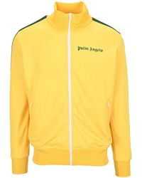 Palm Angels Classic Track Jacket - Yellow
