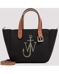 JW Anderson Mini Belt Tote Bag - Black