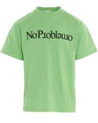 Aries No Problemo T-shirt - Green