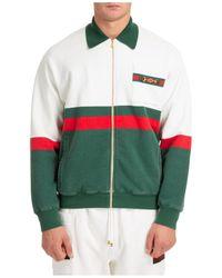 Gucci Sweatshirt With Zip Sweat - Green