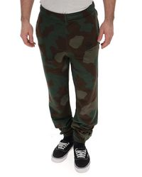 Off-White c/o Virgil Abloh Printed Camouflage Track Trousers - Multicolour