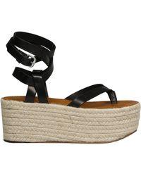 Isabel Marant Mazia Platform Sandals - Black