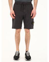 Stone Island Jogging Bermuda Shorts Grey