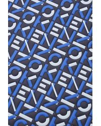 KENZO Large Pouch Logo - Blue
