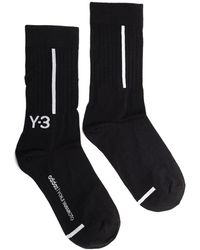 Y-3 2-pack Logo Intarsia Socks - Multicolour