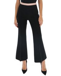 Gucci Cropped Flare Pants - Black