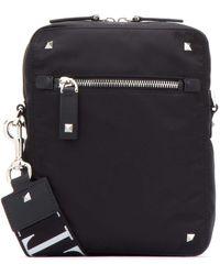 Valentino Garavani Zipped Messenger Bag - Black