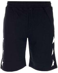 Golden Goose Star Printed Boxing Shorts - Black