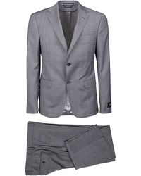 Z Zegna Other Materials Suit - Grey