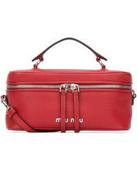 Miu Miu Top Handle Bag - Red
