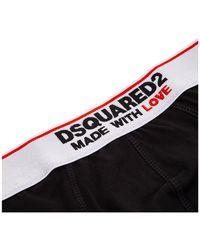 DSquared² Men's Underwear Briefs - Black