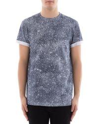 Dior Homme - Galaxy Print T-shirt - Lyst