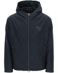 Etro Packable Jacket - Blue