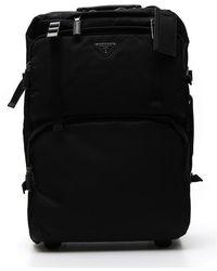Prada - Wheelie Bag - Lyst