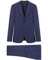 Z Zegna Two-piece Suit - Blue