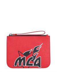 McQ Logo Pouch - Red